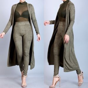 Pants - ***TWO PIECE SET*** OLIVE