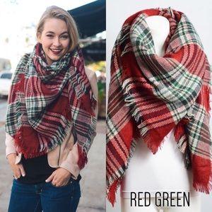 🆑 Flannel Blanket Scarf