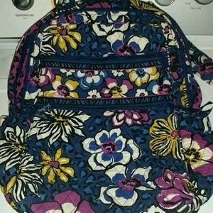 Vera Bradley African Violet backpack