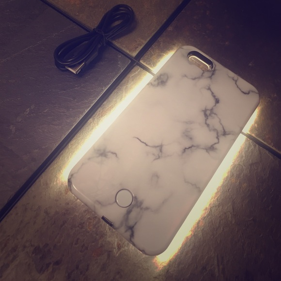 official photos c076b ea815 Lumee light up marble iPhone 6 case (final price )