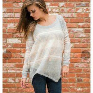 Sweaters - Assymmetrical Desert Diva Sweater