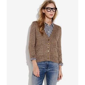 Madewell Sweaters - Madewell First Frost Sparkle Cardigan Gold