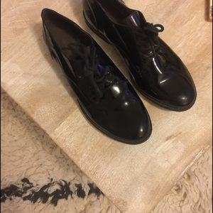 Halogen Shoes - Halogen patent leather oxfords