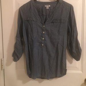 Denim old navy shirt