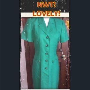 Kasper Dresses & Skirts - BEAUTIFUL one piece green dress - NWT