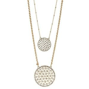 Olivia Welles Gleaming Layers Necklace