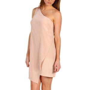 Tibi Dresses & Skirts - tibi sz 4 Pink Eldridge Asymmetrical Dress NWOT