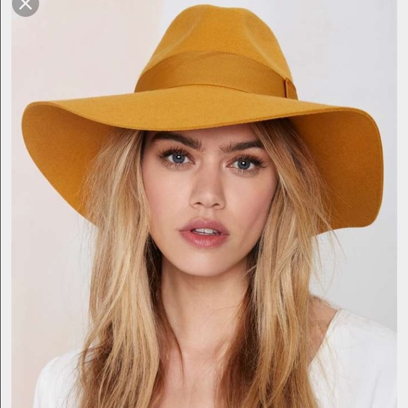Brixton Accessories - Brixton Piper wool hat in mustard 980c5fe1ccf