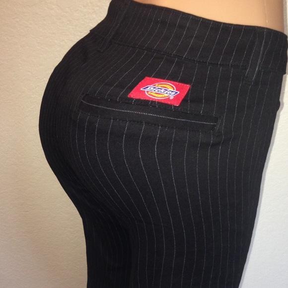0c00d5cd21240d Dickies Pants - Dickies Girl Pinstripe Boot Cut Pants Stretch 13