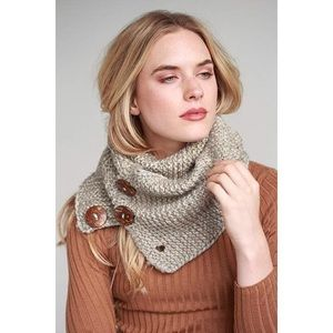 Simonetta Accessories - Mixed Knitted Infinity Scarf