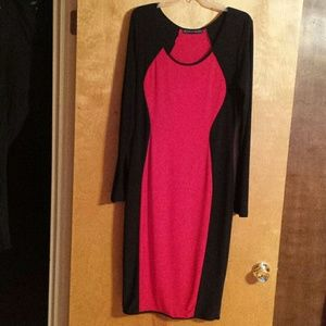 Dresses & Skirts - Gorgeous Plus Red/Black BodyCon