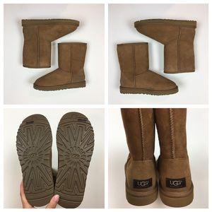 16d40a820d UGG Shoes - NIB UGG Classic Short Boots in Chestnut - 7