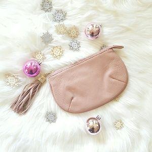 Handbags - DUSTY ROSE coin purse BNWT