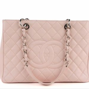 Authentic light pink Chanel bag