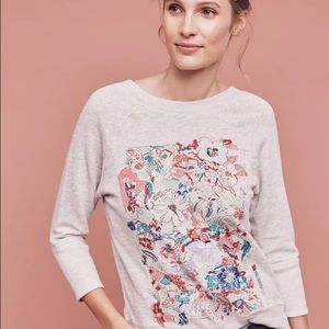 Anthropologie postmark sweatshirt