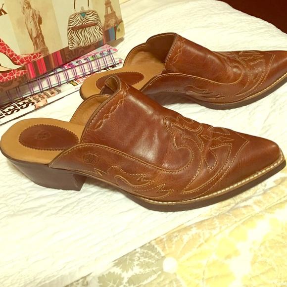 Ariat Shoes   Ariat Western Mule   Poshmark