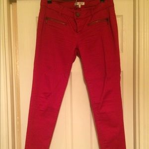 Denim - Fire Engine Red Skinny Jeans! BLOWOUT SALE!!!