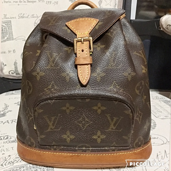 Louis Vuitton Handbags - Authentic Louis Vuitton Montsouris PM Backpack! 7229906736d16