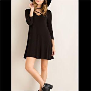 Dresses & Skirts - ❣️ strappy tee shirt dress shift