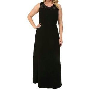 MYNT 1792 Dresses & Skirts - MYNT 1792 Black Lace Yoke Dress