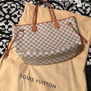 Louis Vuitton Handbags - Azur MM neverfull