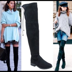 Leoninus - 🏆HOST PICK🏆Low Heel Over-the-Knee Boots Grey from ...