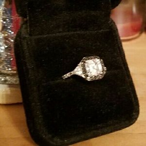 Jewelry - IT'S GOTTA GO!!! Beautiful CZ Ring