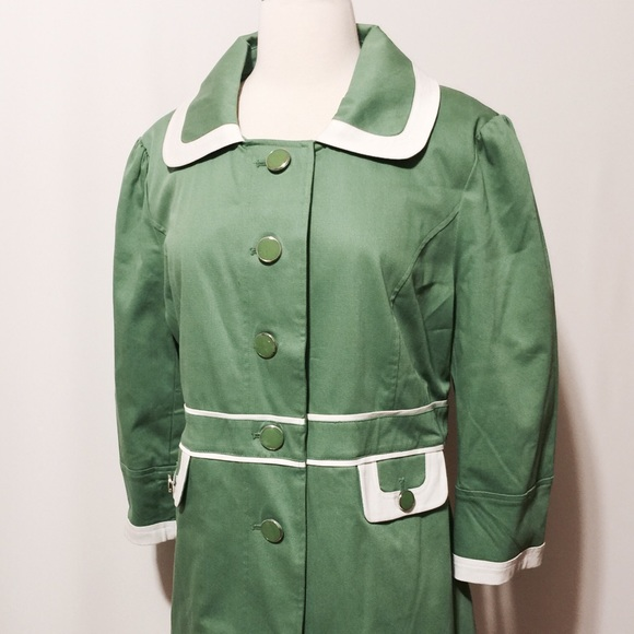 66% off Dialogue Jackets & Blazers - Dialogue NWOT Kelly Green ...