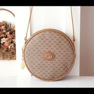 Gucci Vintage Monogram Round Shoulder Bag