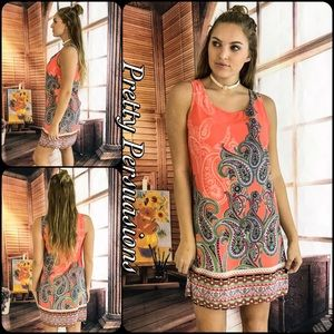 Pretty Persuasions Dresses & Skirts - SALE🎉 NWT Paisley Print Shift Dress