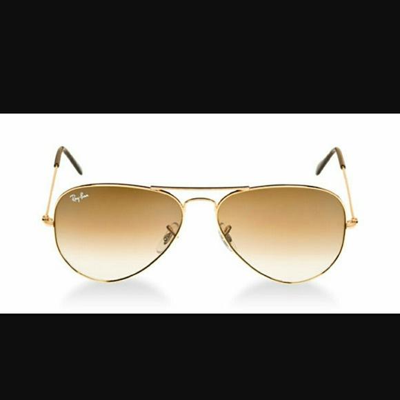 ray ban sonnenbrille frauen aviator gold