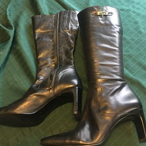 Enzo Angiolini Shoes - Enzo Angiolini black Leather boots