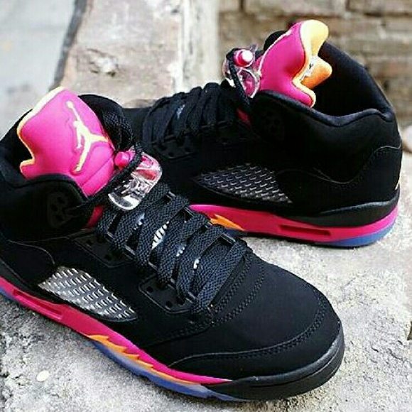 online store 0ee8b 648f9 Girls Air Jordan 5 Retro (GS)
