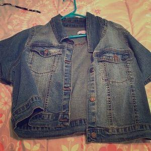 Simply Be Jackets & Blazers - Short sleeve jean jacket