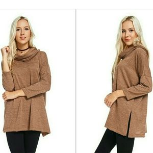Tops - Cowl Neck Tunic Top