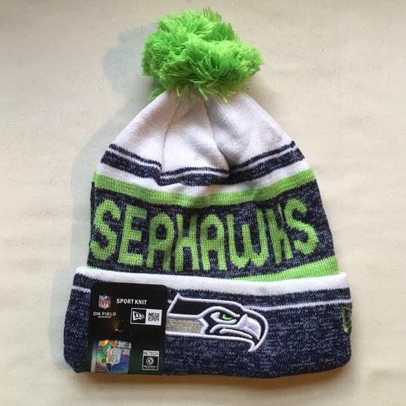90799fe3284 Seattle Seahawks beanie hat