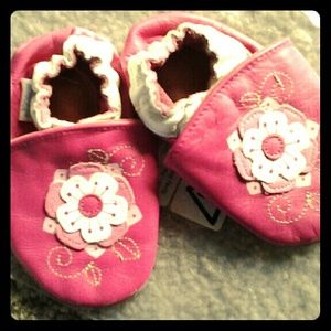 Robeez Other - ** Robeez Pink leather 6-12 Month's