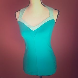 North Face Turquoise top