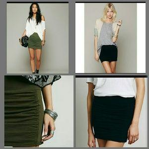 2 new Free people high waist skirts