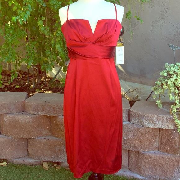 7996745891d3 Donna Ricco Dresses | Nwt Cherry Red Cocktail Dress | Poshmark