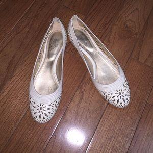 Belle by Sigerson Morrison Shoes - White flats
