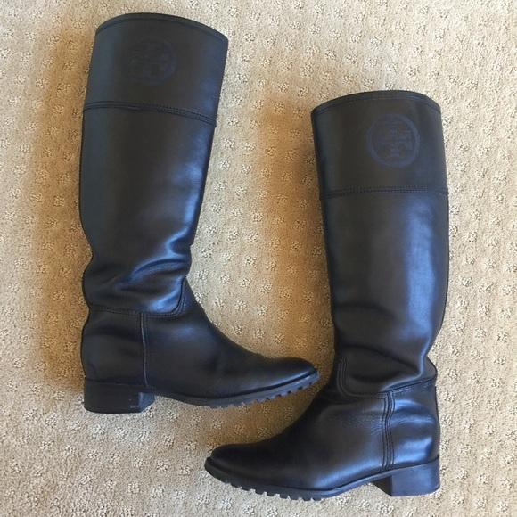 22ac9d1f0 ... where to buy saletory burch jackson riding boots 3832a bb87f