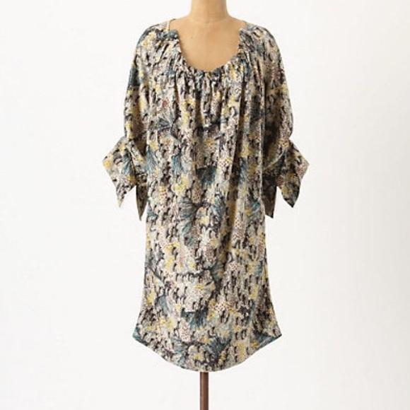 bfda28a771 Anthropologie Dresses   Skirts - Anthropologie Rutzou Critter Carnival Dress  Silk