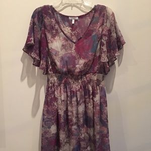 Delia's printed dress