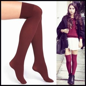 Over The Knee Boot Socks Thigh High