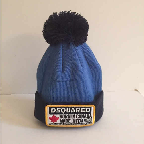 DSQUARED Other - Dsquared Unisex winter hat beanie with Pom New ac03cbf739ec
