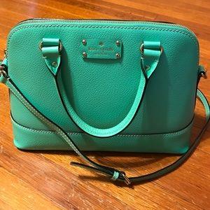 Green Kate Spade Wellesley Rachelle bag