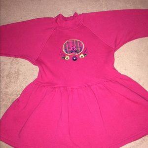 THREADS KIDS GIRLS DRESS.  SIZE L (6X).