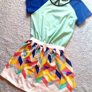 Everly Dresses & Skirts - Colorful Skirt - Stitch Fix
