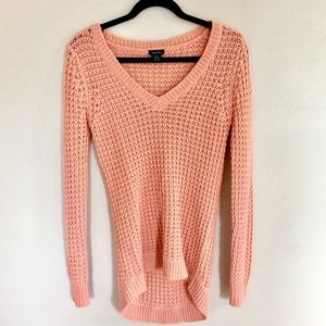 Coral Knit Sweater (S)